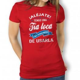 Camiseta Tia Loca Usarla