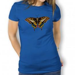 Camiseta Mariposa Marron para mujer