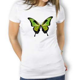 Camiseta Mariposa Verde MUJER