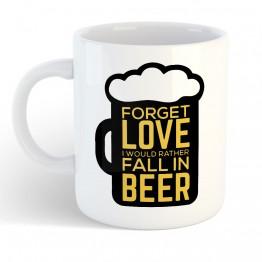 Taza Cerveza Amor