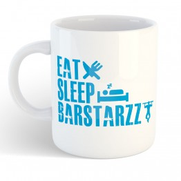 Taza Eat Sleep Barstarzz