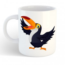 Taza Tucan Cartoon