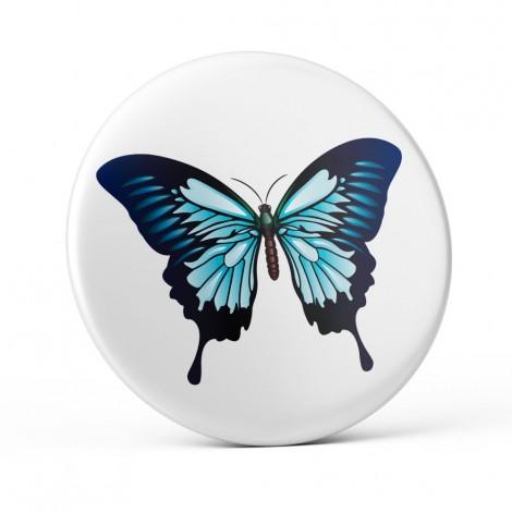 Chapa Mariposa Azul