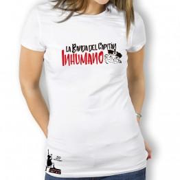 Camiseta mujer Blanca de La Banda del Capitán Inhumano