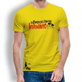 Camiseta hombre amarilla de La Banda del Capitán Inhumano