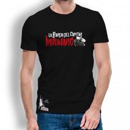 Camiseta hombre negra de La Banda del Capitán Inhumano