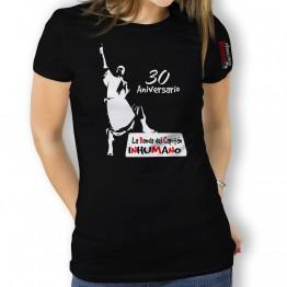 Camiseta MUJER silueta de La Banda del Capitán Inhumano