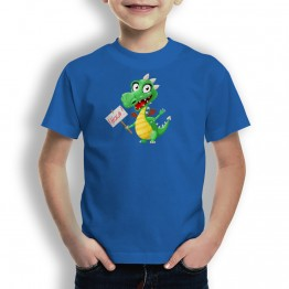 Camiseta Dragon Feliz para Niños