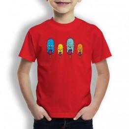 Camiseta Helados zombie para Niños