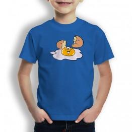 Camiseta Huevo Roto para Niños