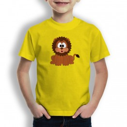Camiseta Leon Pepon para Niños