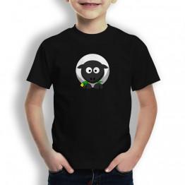 Camiseta Oveja de la Suerte para Niños