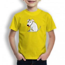 Camiseta Perro con Pinchos para Niños