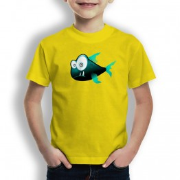 Camiseta Piraña para Niños