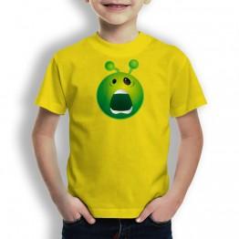 Camiseta Susto Alien para Niños