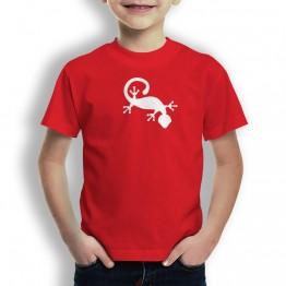 Camiseta Gecko Ventosa para Niños