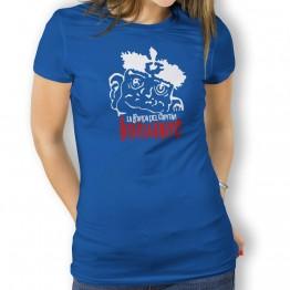 Camiseta de Mujer con Cabeza Duba de La Banda del Capitán Inhumano