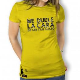 Camiseta Me Duele la Cara de Mujer La Banda del Capitán Inhumano