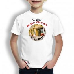 Camiseta Pasan Factura para Niños La Banda del Capitán Inhumano