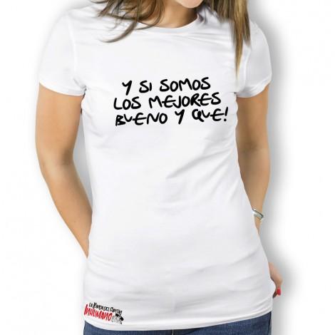 Camiseta Los Mejores para Mujer La Banda Del Capitan Inhumano
