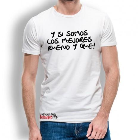 Camiseta SOMOS Los Mejores para Hombre La Banda del Capitán Inhumano