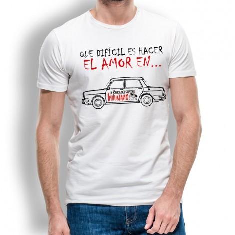 Camiseta de Hombre Que Dificil de La Banda del Capitán Inhumano