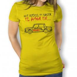 Camiseta Que Dificil para Mujer La Banda del Capitán Inhumano