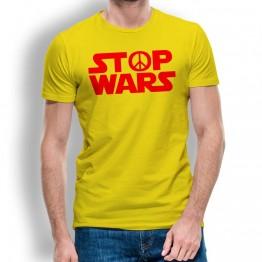 Camiseta Stop Wars para Hombre