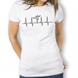 Camiseta Electro Baile para Mujer