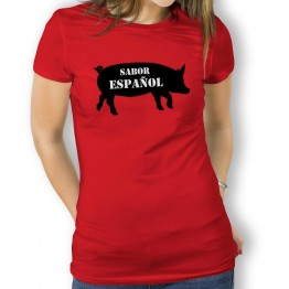 Camiseta Sabor Español para Mujer