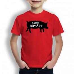 Camiseta Sabor Español para Niños