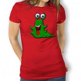 Camiseta Babosa Alien para Mujer