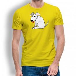 Camiseta Perro con Pinchos para Hombre