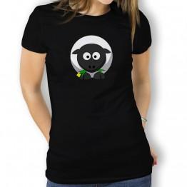 Camiseta Oveja de la Suerte para Mujer