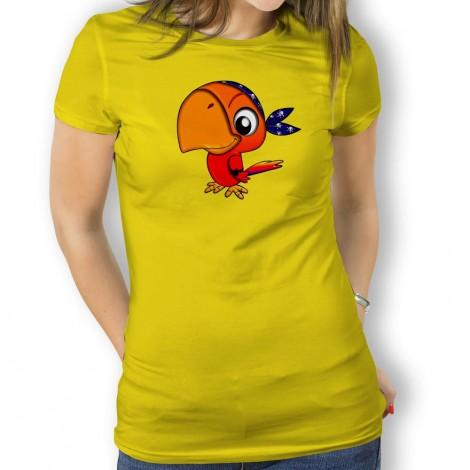 Camiseta Loro Pirata para Mujer