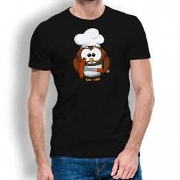 Camiseta Chef Buho para Hombre
