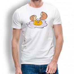 Camiseta Huevo Roto para Hombre