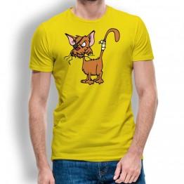 Camiseta Gato Callejero para Hombre
