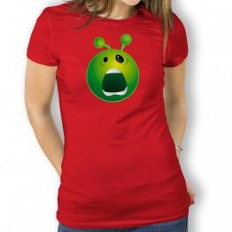 Camiseta Susto Alien para Mujer