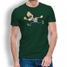 Camiseta Caricatura Running para Hombre