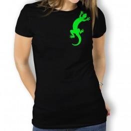 Camiseta Gecko Rastrero para Mujer