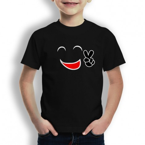 Camiseta Cara Feliz para Niños