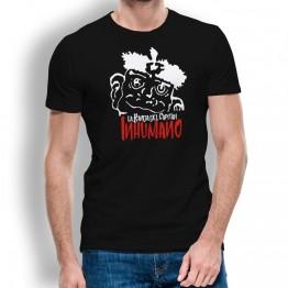 Camiseta de Hombre con Cabeza Duba de La Banda del Capitán Inhumano