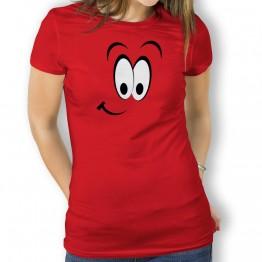 Camiseta Sonrisa para Mujer