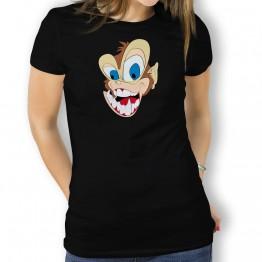 Camiseta Mono Loco Boca para Mujer