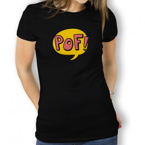 Camiseta Comic Pof para Mujer