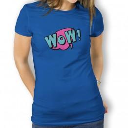 Camiseta Comic Wow para Mujer