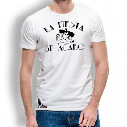 Camiseta La Fiesta Se Acabo para Hombre