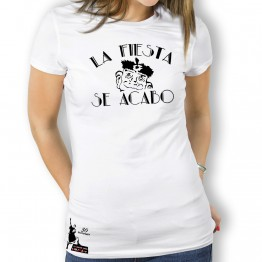Camiseta La Fiesta Se Acabo para Mujer