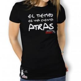 Camiseta El Tiempo Es para Mujer